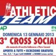 Per la prima volta il Cross Sociale dell'Athletic Team si terrà a Milano presso il parco di Trenno Ritrovo ore 8:30 – Partenza unica ore 10:00 PARCO DI TRENNO […]