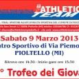 Sabato 9 marzo ore 14.30 presso il campo Sportivo di via Piemonte, 23 a Pioltello si è svolto il 25° Trofeo dei Giovani (distanze da mt 200 a mt 1000) […]