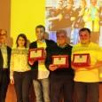 Ecco le immagini relative alla premiazione del Team per il ristoro che ha meglio gestito il riciclo dei rifiuti