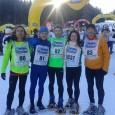 """I """"competitivi"""" del Team alla Ciaspolada 2015. Photo by the President"""